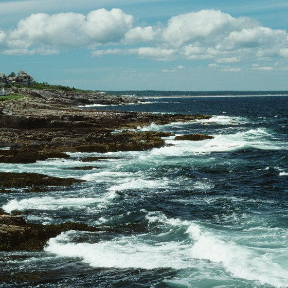Pine Point is part of Maine's coastal region.