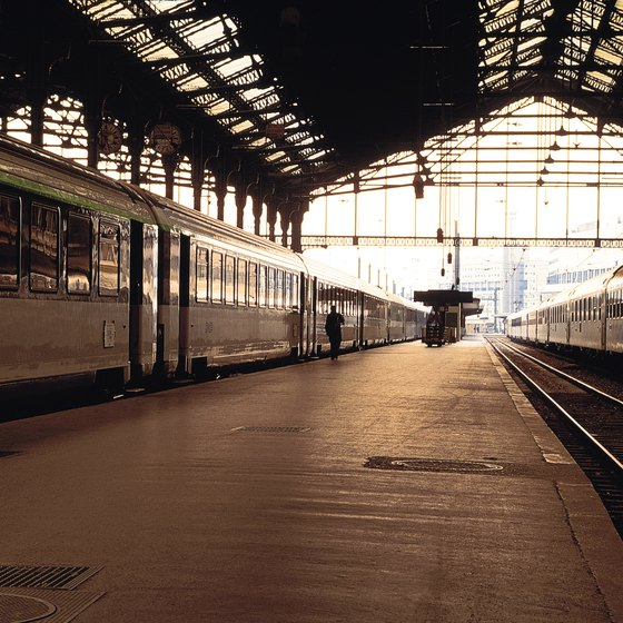 Sleeper trains head from Gare de Lyon to most major Italian destinations.