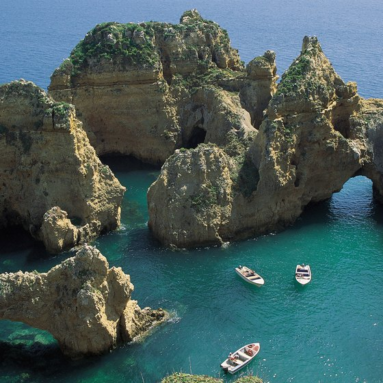 Blue waters, calm seas and gorgeous views are just some of what you will find in Lagos, Portugal.