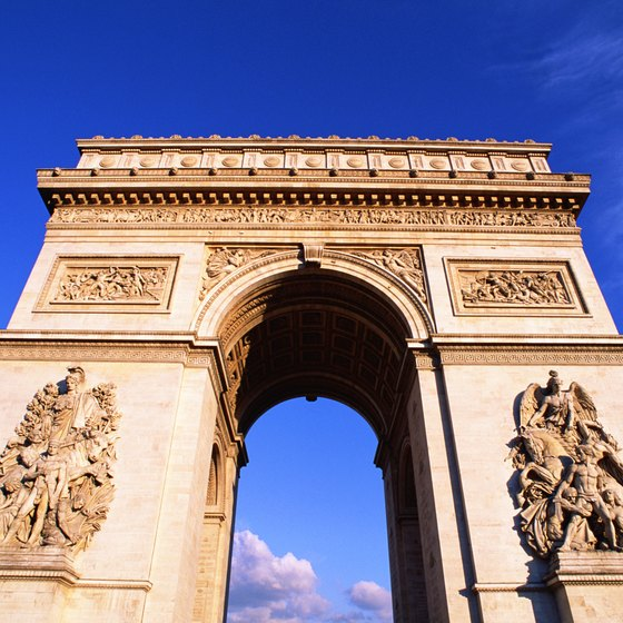 Travel through Charles de Gaulle airport to see Paris sites.
