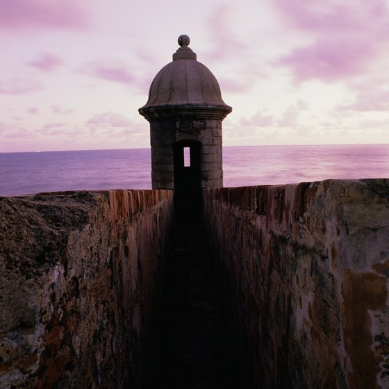 Take a tour of the fort of San Cristobal.
