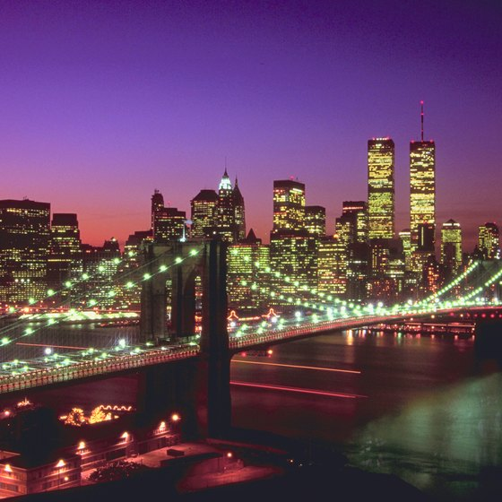 New York City's world-reknowned nightlife entertains millions of people each year.
