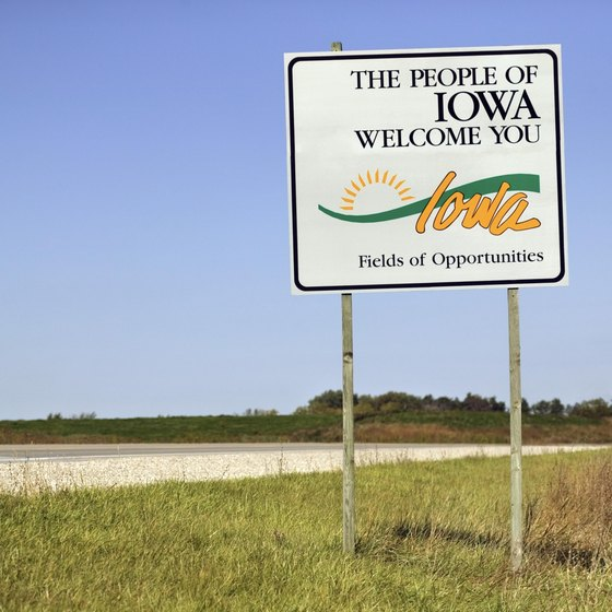 More than a dozen casinos are located in Iowa.