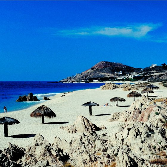 Cabo San Lucas's white sandy beaches and tropical climate have helped make it a vacation destination.