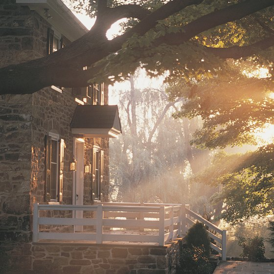 Plan a quiet weekend in the Pennsylvania countryside.