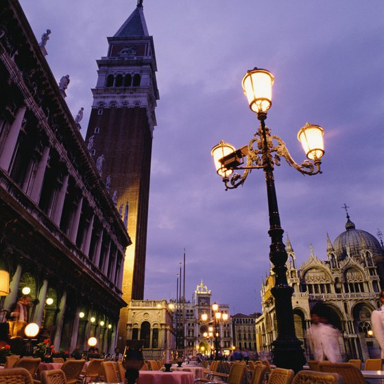 Venice is one of northern Italy's top tourist attractions.