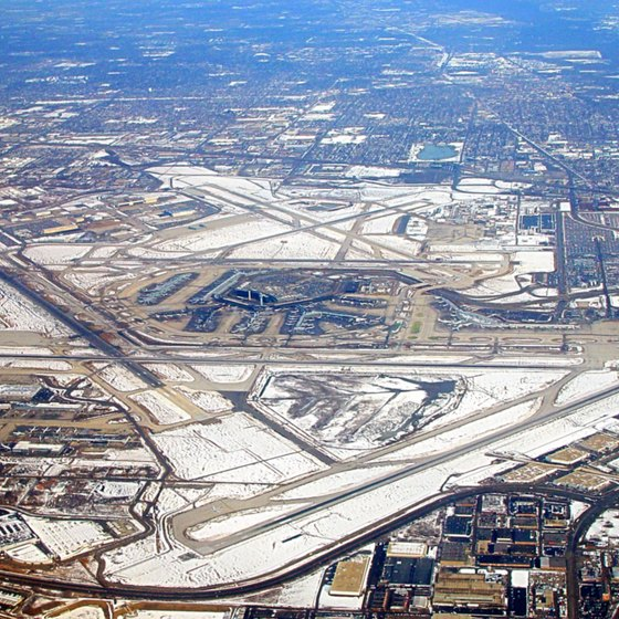 Look past the jet engines and explore Chicago O'Hare's lively neighborhood.