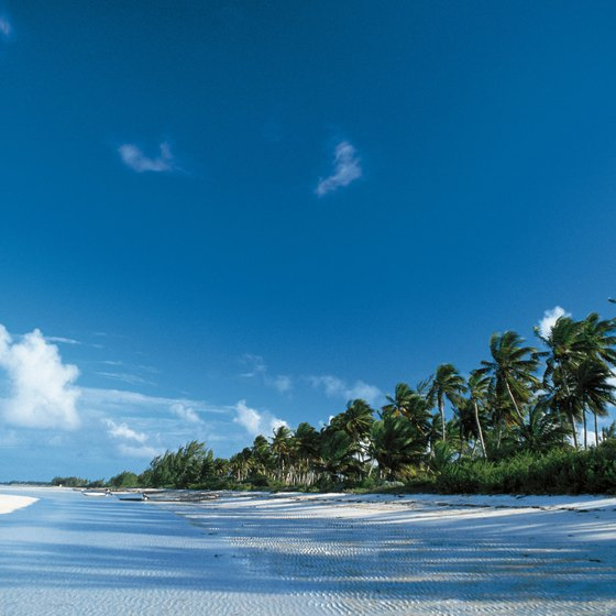 The Bahamas offer beautiful beaches for a tropical vacation.