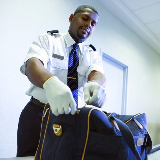 The Transportation Security Administration does not require prescriptions for medications.