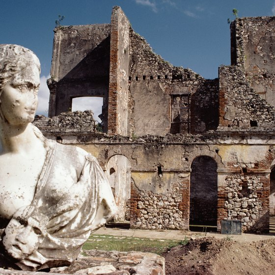 See the ruins of Citadel in Haiti.