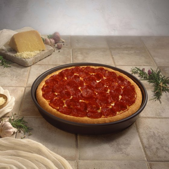 Enjoy some deep dish pizza on your trip to Chicago.