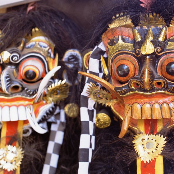 In addition to beautiful beaches, Bali is known for a rich, cultural heritage.
