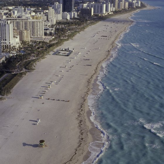 Miami Beach offers numerous hotels near the Fountainbleau.