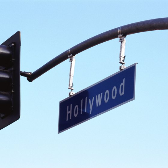 Universal Studios is near Hollywood Boulevard and the Walk of Fame.