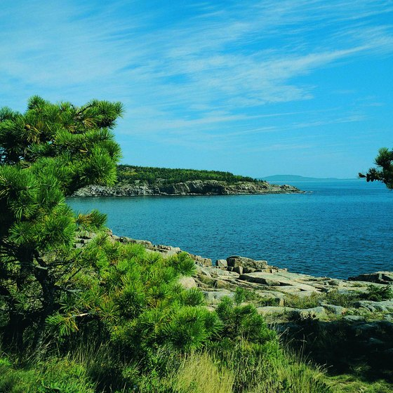 Bar Harbor offers lodging near Acadia National Park.