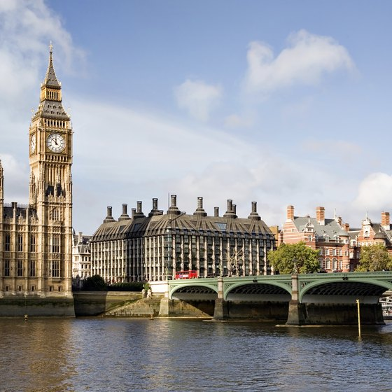 London is a feasible beginning for UK backpacking trips.