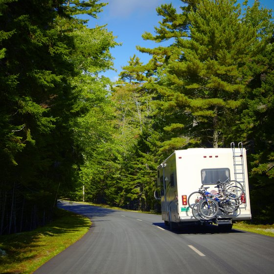 Drive your RV to Hillman for a camping vacation.
