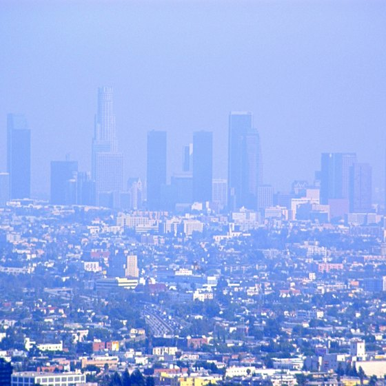 Covina is located near downtown Los Angeles.