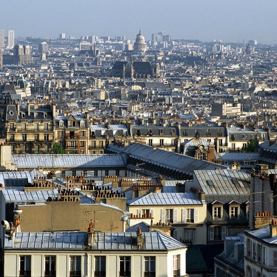 Visitors to the French capital can choose from a number of hotels on the outskirts of Paris.