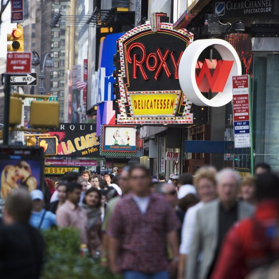 Time Square's tourist-centric restaurants aren't always budget-friendly.