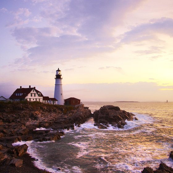 Maine is known as the Lighthouse State.