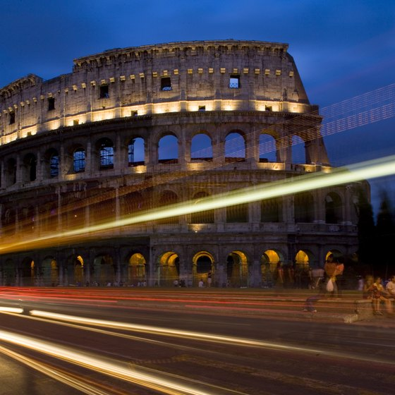 The Colosseum is just one of Rome's attractions.