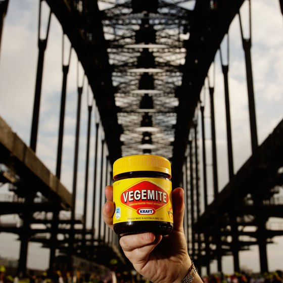 Vegemite originated in Australia, but is now sold worldwide.