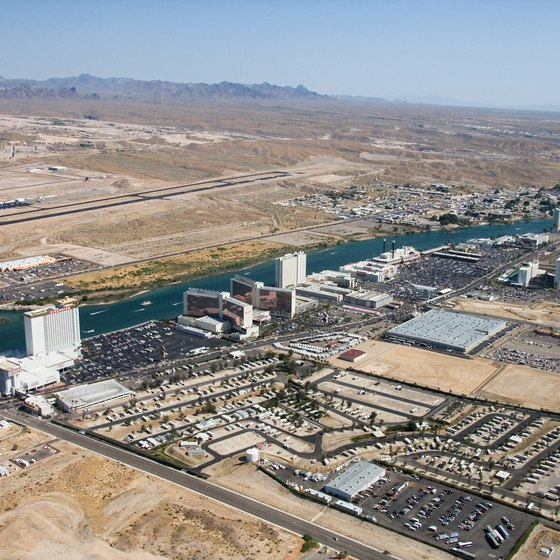 Laughlin, Nevada, is south of the Mojave Desert.