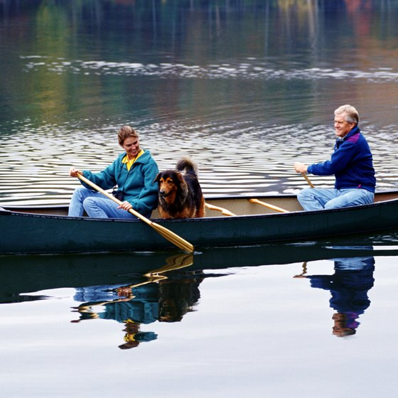 Cayahoga Valley National Park offers canoeing and other activities in Cuyahoga Falls.