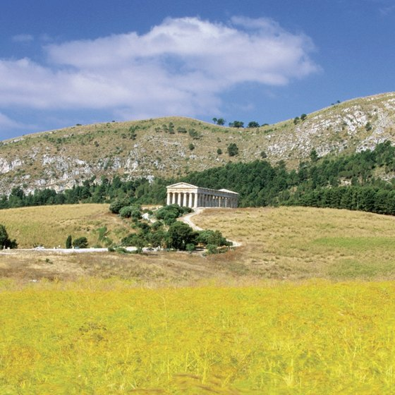 Sicily's diverse climate offers visitors a variety of landscapes throughout the year.