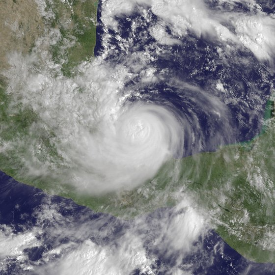 Hurricane Karl hit the Veracruz area in 2010.