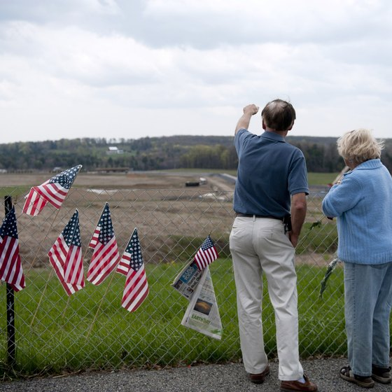 The United 93 Memorial is one of the points of interest in the Laurel Highlands.