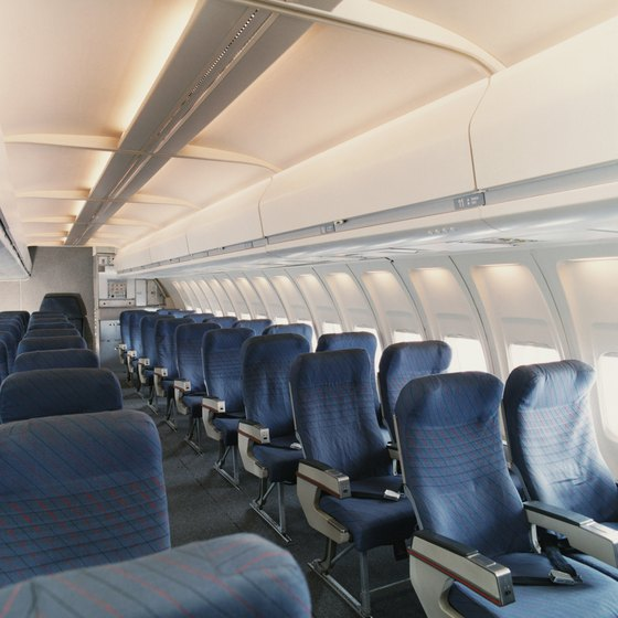 Find out how many seats are left on a flight.