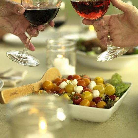 Pair local wine with local cuisine while visiting the wine regions of upstate New York.