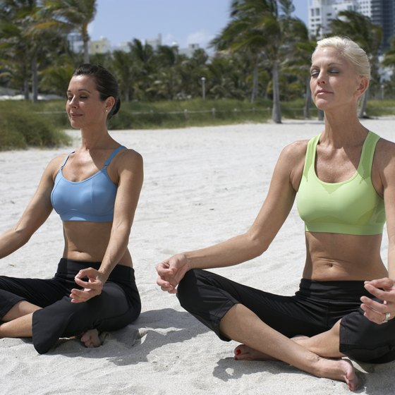Fitness spas offer exercise, nutrition and spa treatments along South Florida's beaches.