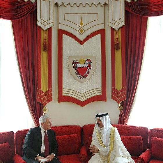 Only the elite are allowed inside Bahrain's active palaces.