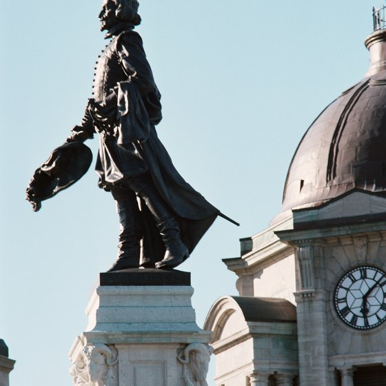 Québec City is filled with numerous historic landmarks.