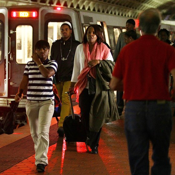 Washington's Metrorail system can help you bypass traffic en route to Dulles.