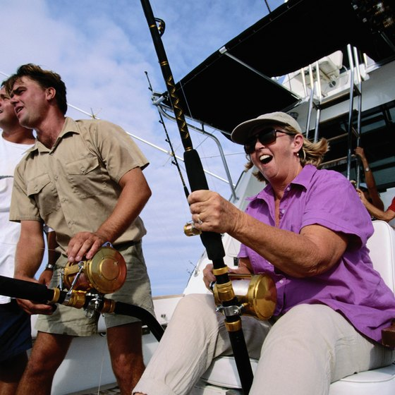 Deep-sea fishing off Oceanside can be an adventure and also can feed your family for months.