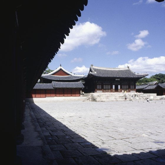 You can visit Changdeokgung Palace in Seoul.