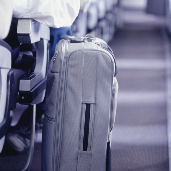 Your carry-on can hold some of the heavy items that weigh down your checked luggage.