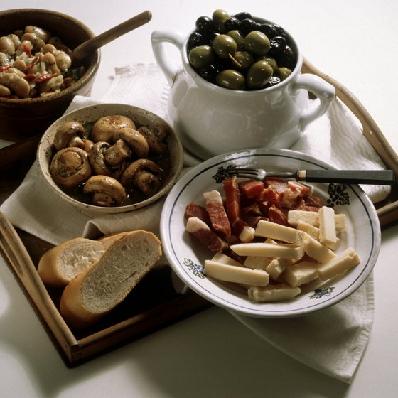In Spain, inexpensive tapas are a staple for the budget traveler.