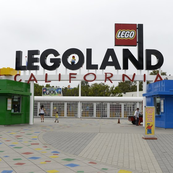 Entrance to LEGOLAND California in Carlsbad.