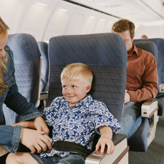 Children who are younger than 15 cannot be seated in an exit row.