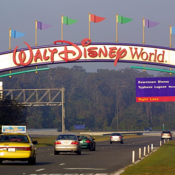 Disney World consists of four theme parks, two water parks and dozens of resorts.