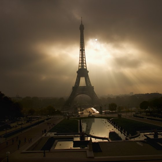 Don't miss an opportunity to see the Eiffel Tower when you're passing through Paris.