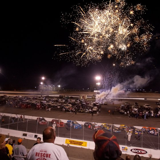 Your kids will enjoy the fireworks at the Spokane County Raceway.