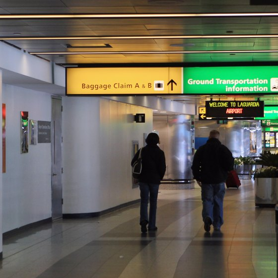 LaGuardia Airport is about 12 miles from JFK International Airport.