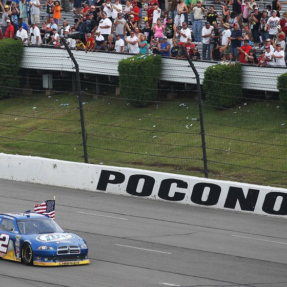 Watch NASCAR at Pocono Raceway or travel to a nearby casino.