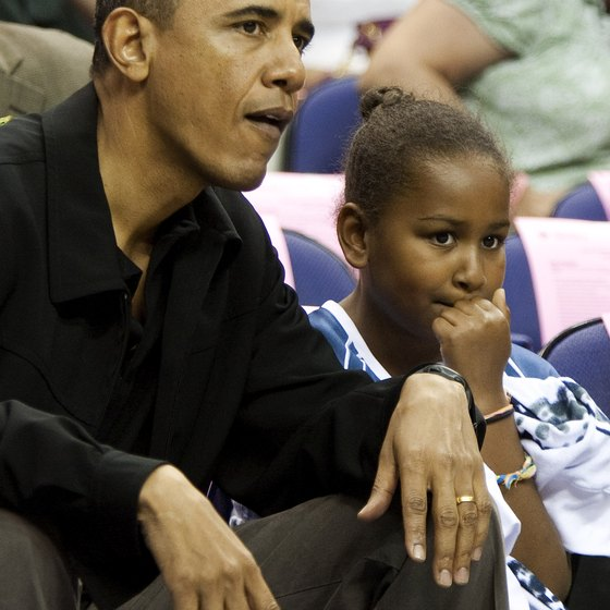 President Barack Obama watched the Tulsa 66ers play in Washington, D.C.